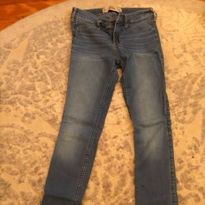 Light washed jeans from Hollister